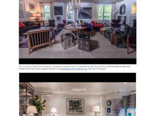 "Washington Post, April 28, 2017: ""Inside the 2017 Kips Bay Decorator Show House"""