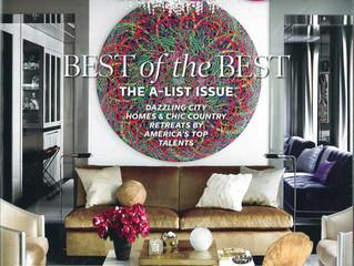 Elle Decor June 2014: The A-List