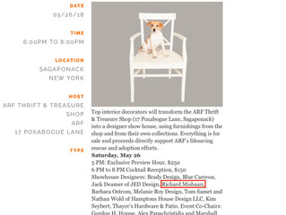 """Editor At Large, May 18 2018: """"ARF Designer Show House & Sale"""""""