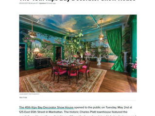"Huffington Post, May 2, 2017: ""The 45th Annual Kips Bay Decorator Show House"""