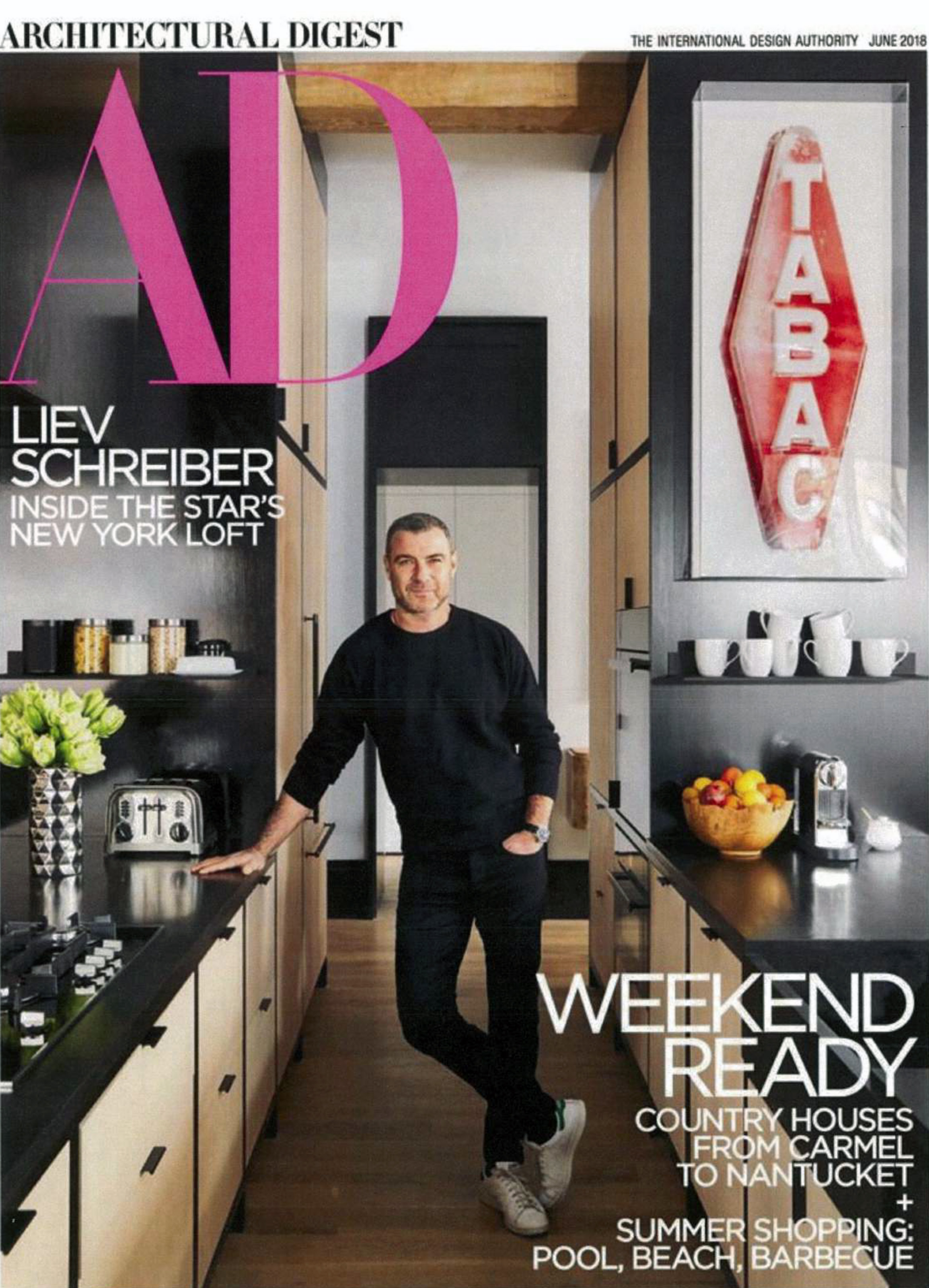 Architectural Digest June 2018 Discoveries Feeling The Pull