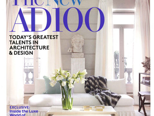 """Architectural Digest, January 2012: """"The New AD100"""""""