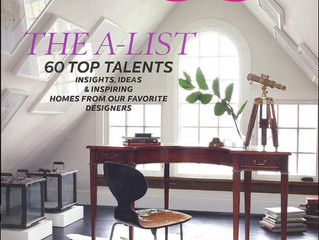 """Elle Decor, June 2012: """"The A-List: Top 60 Talents"""""""