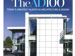 Architectural Digest January 2014: The AD100 List