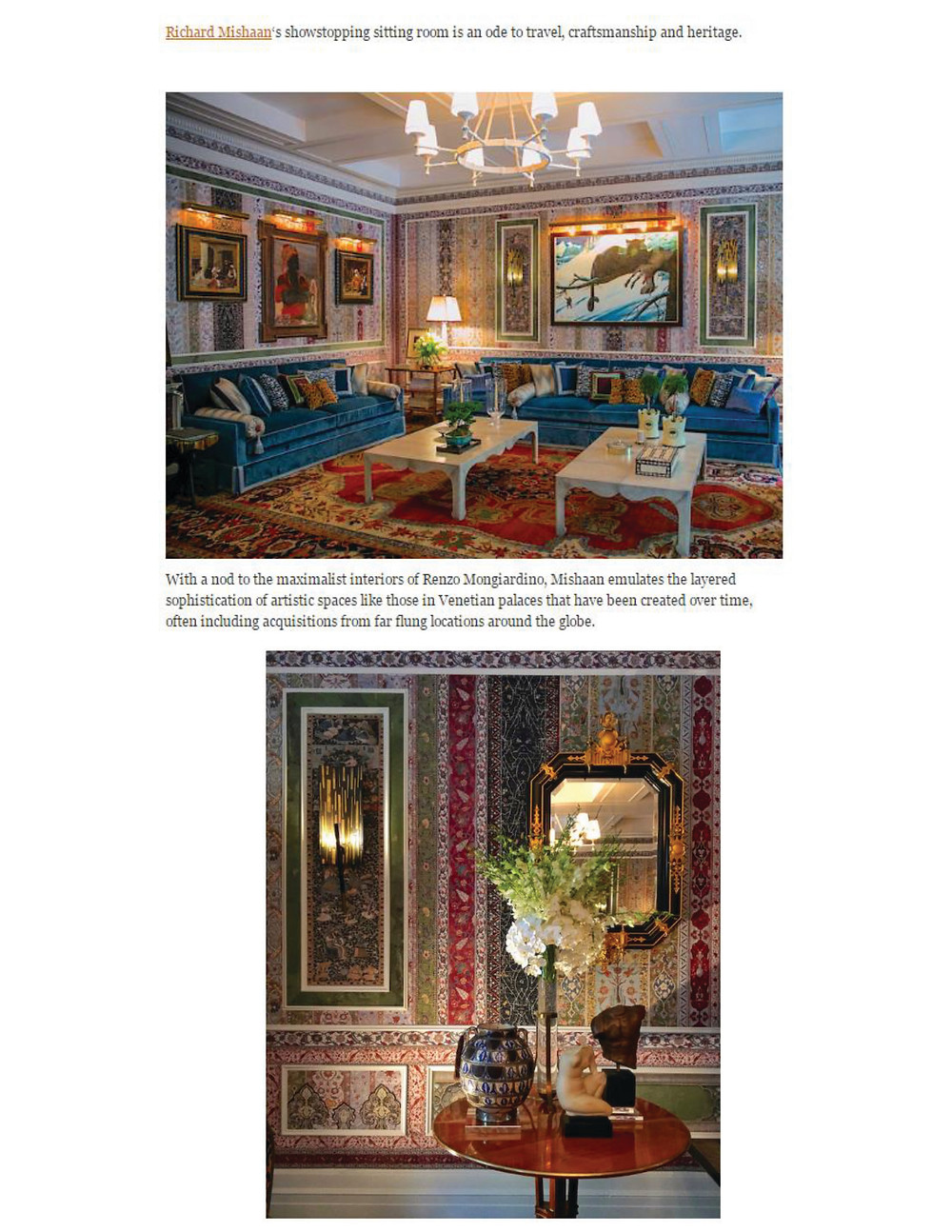 Richard Mishaan Interior Design
