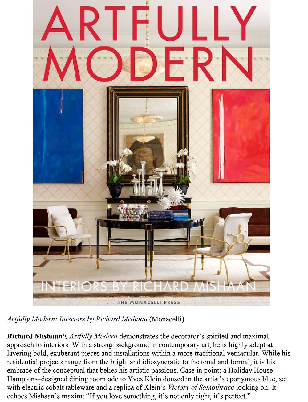 Richard Mishaan Interior Design