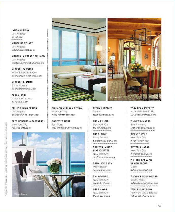 Richard Mishaan Design Ocean Home Magazine