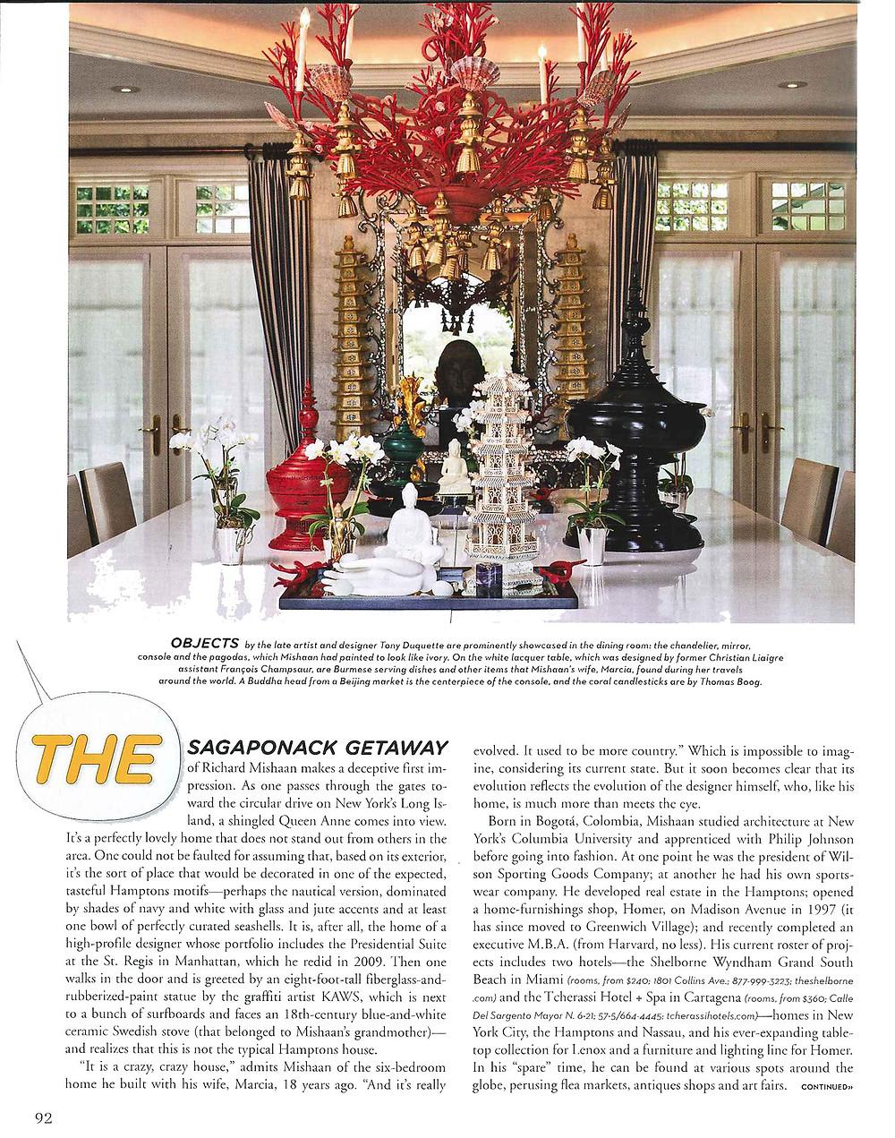 Richard Mishaan Departures Magazine