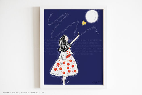 Make Everyday Magical | Bookish Art | Wall Art