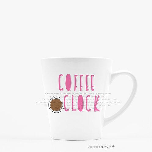Coffee O'clock Latter Mug