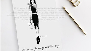 My Very First Set of Stylish Illustrations | Throwback Thursday