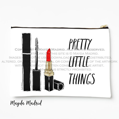 Pretty Little Things -Cosmetic Pouch- Makeup Bag