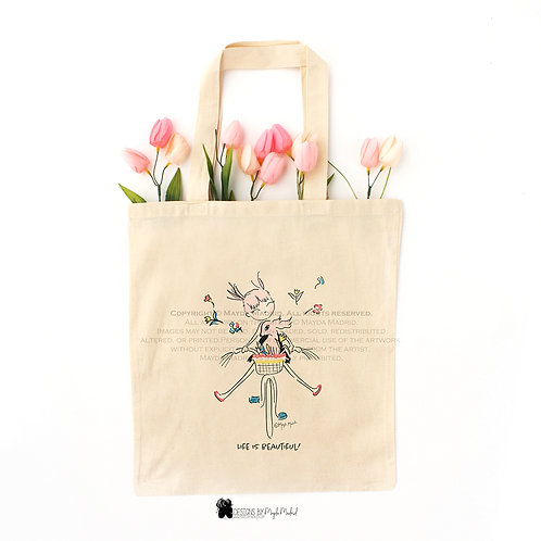 Natural- Life is beautiful Tote bag