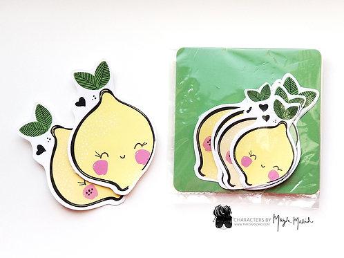 Cute Little Lemon Sticker Pack