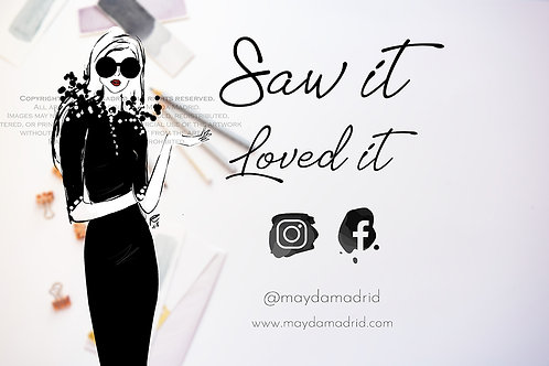 Saw It Love t It- Print Request