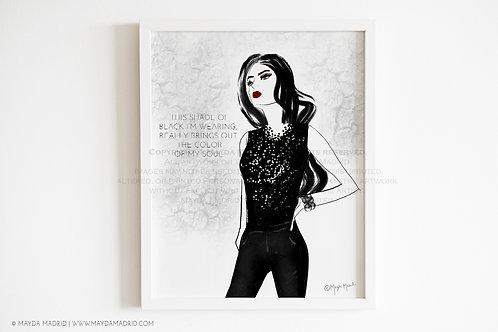 Color Of My Soul |  Illustration | Art Print