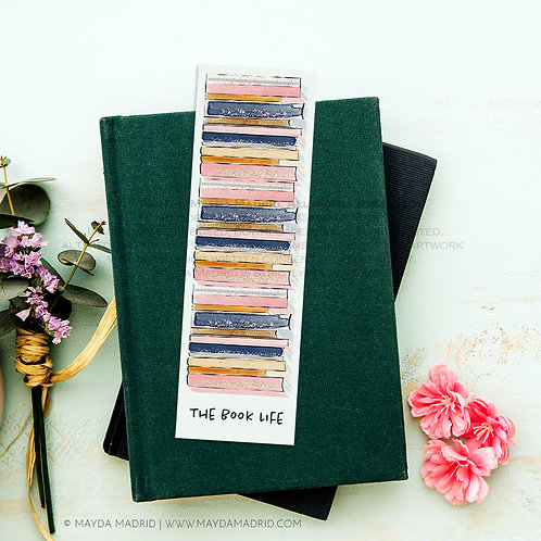 The Book Life | Bookmark | Digital File | Book Accessories