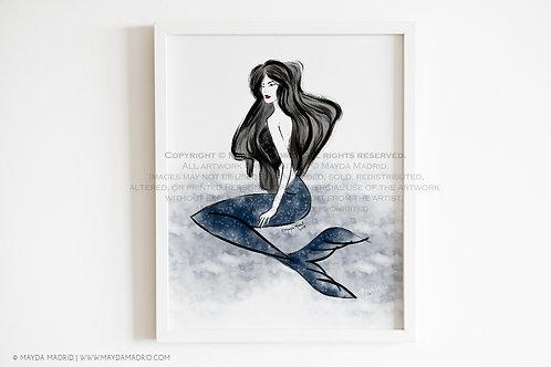 Siren | Mermaid |  Art Print