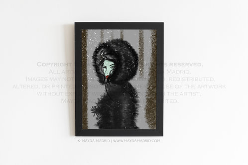 Goblin Queen | Spookish | Stylish Illustration Fine Art Print