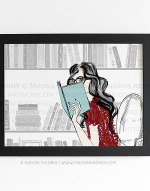 Cozy Reading Nook | Bookish Fine Art Print