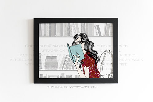 Cozy Reading Nook | Bookish Fine Art Print