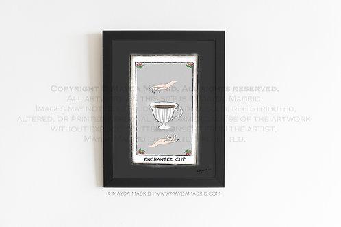 Enchanted Cup | Spookish | Stylish Illustration Fine Art Print