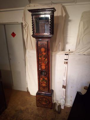 ThomasTompion' marquetry longcase With c