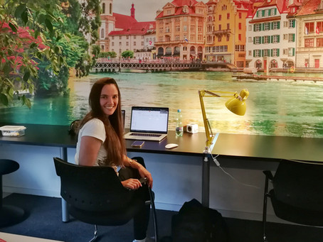 Eine kleine Geschichte aus dem Alltag einer digitalen Nomadin in Luzern