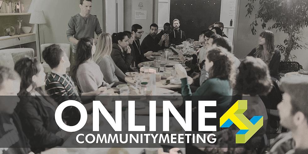 **ONLINE** Community-Treffen mit Georges T. Roos - 31. März 2020