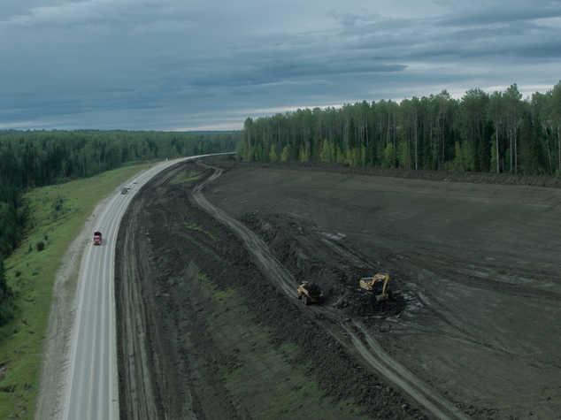 Route 40, Alberta