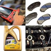 brake pads, diagnostic scan, nulon oil