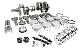 spare parts, crankshaft, pistons, cylinder head, timing belt, main bearings, engine rebuild kit