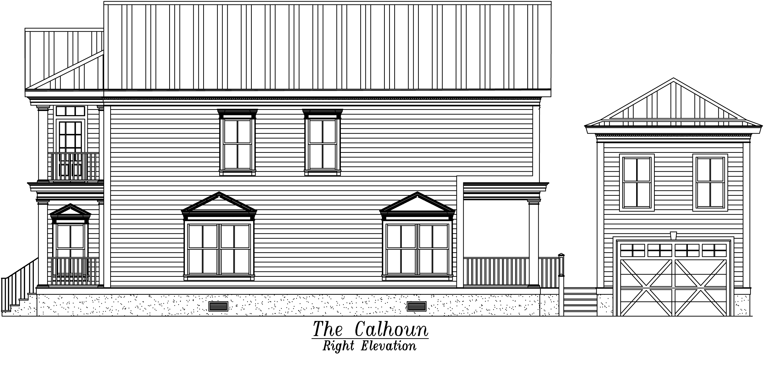 Calhoun Right Elevation