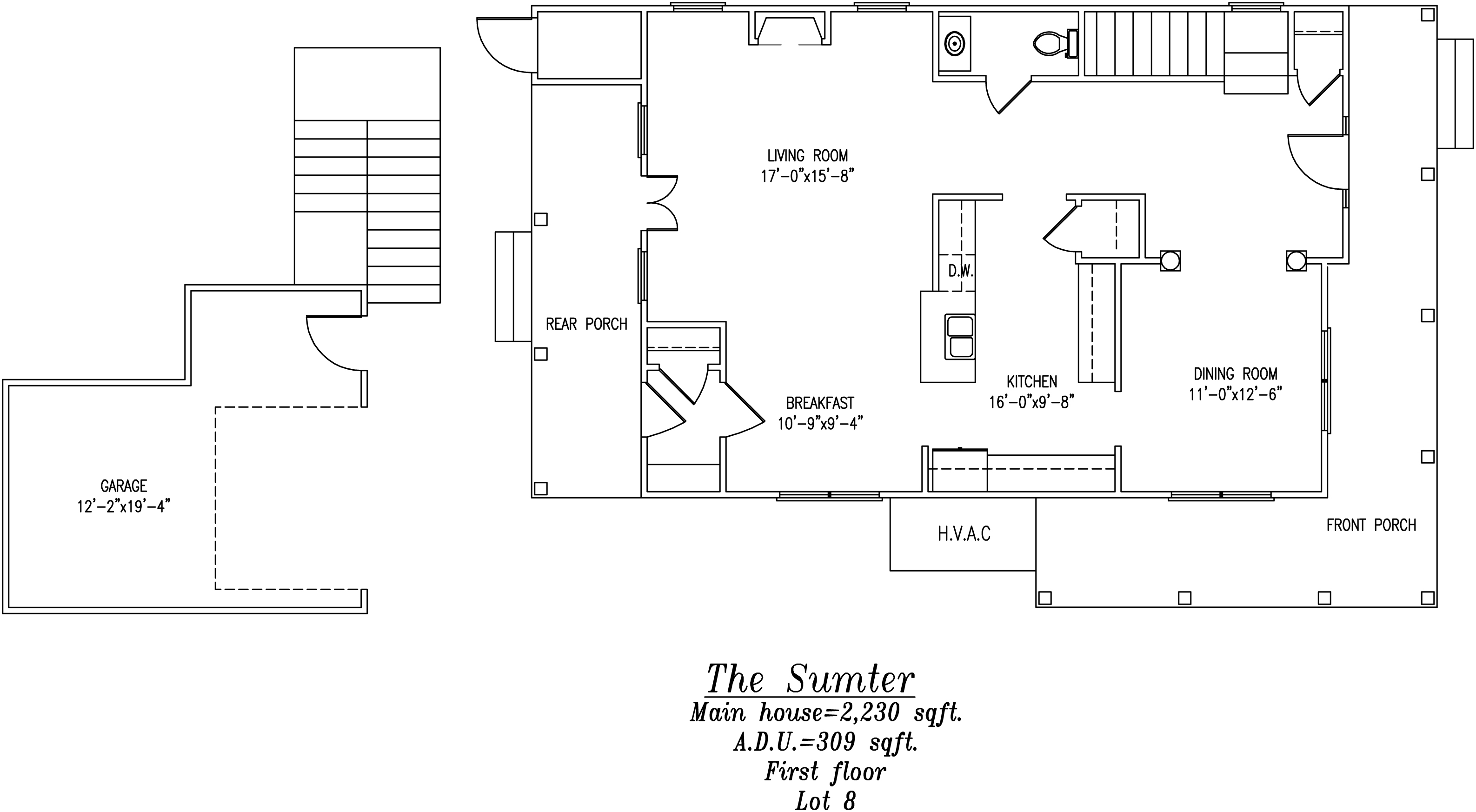 Sumter First floor Plan