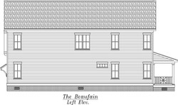 Beaufain Left Elevation