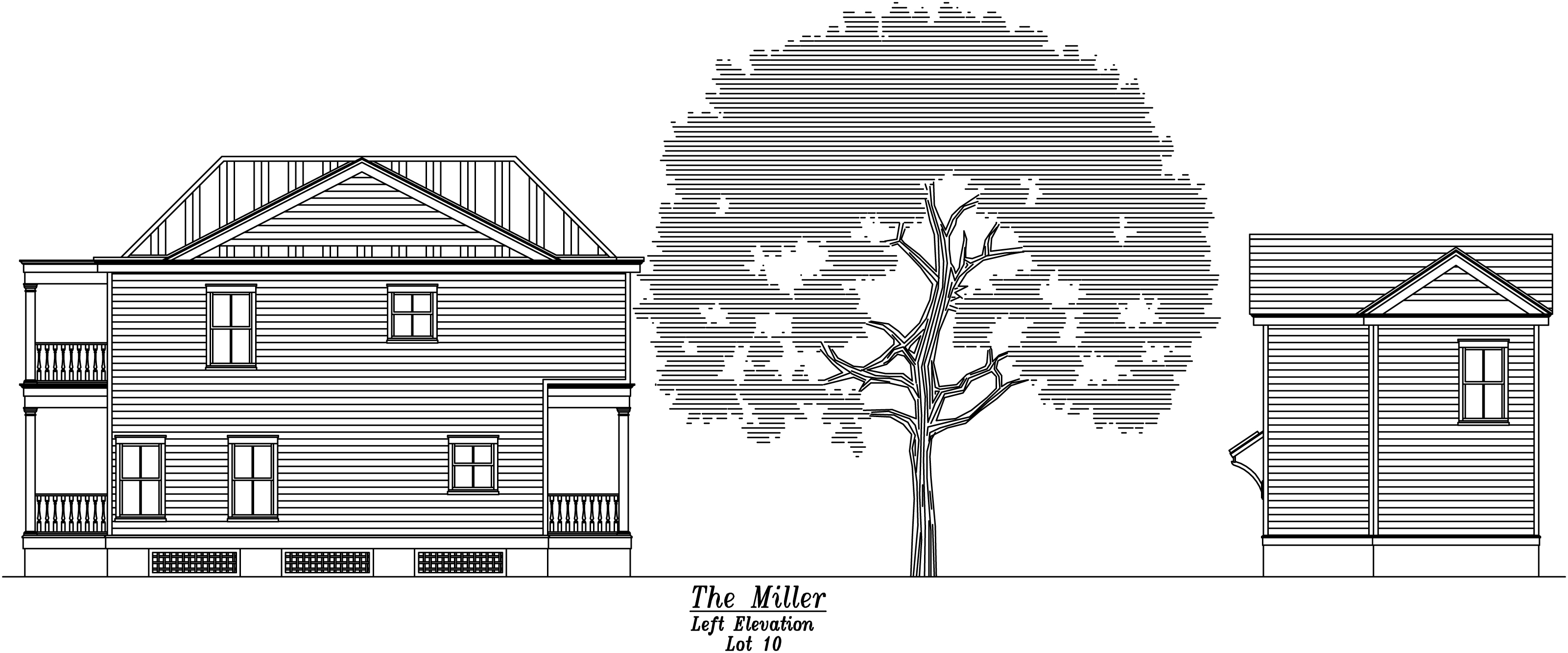 Miller Left Elevation Full