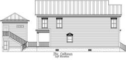 Calhoun Left Elevation