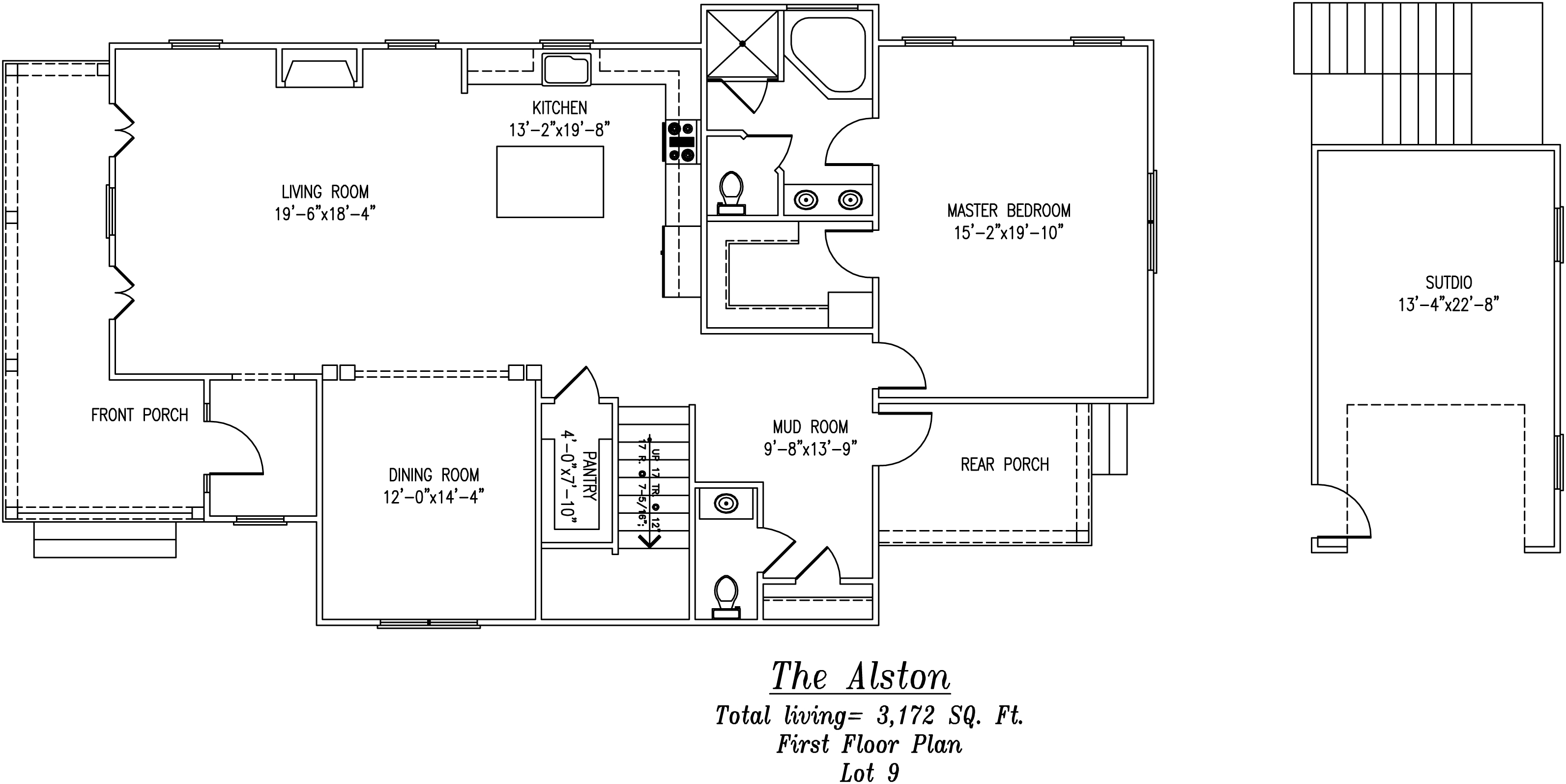 Alston First Floor Plan