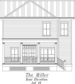 Miller Rear Elevation