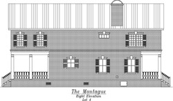 Montague Right Elevation