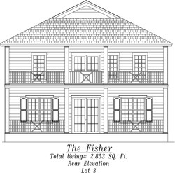 Fisher Rear Elevation