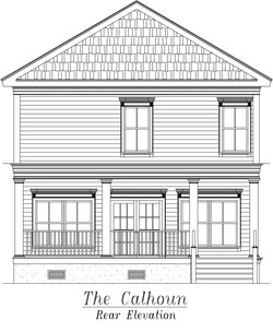 Calhoun Rear Elevation