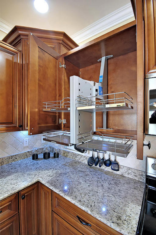 Solid Wood Custom Cabinetry