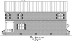 Montague Left Elevation