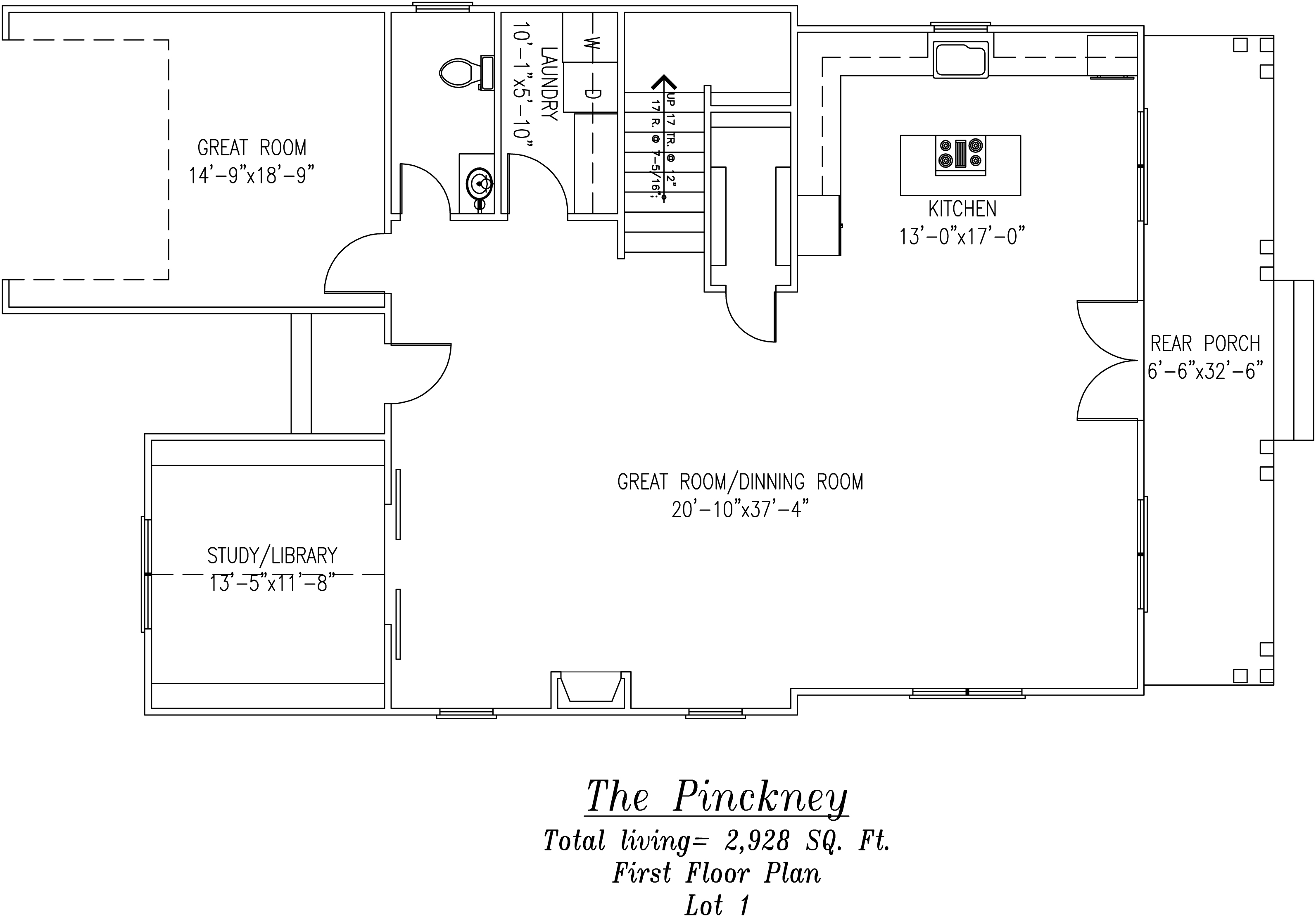 Pinckney First Floor Plan