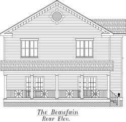 Beaufain Rear Elevation
