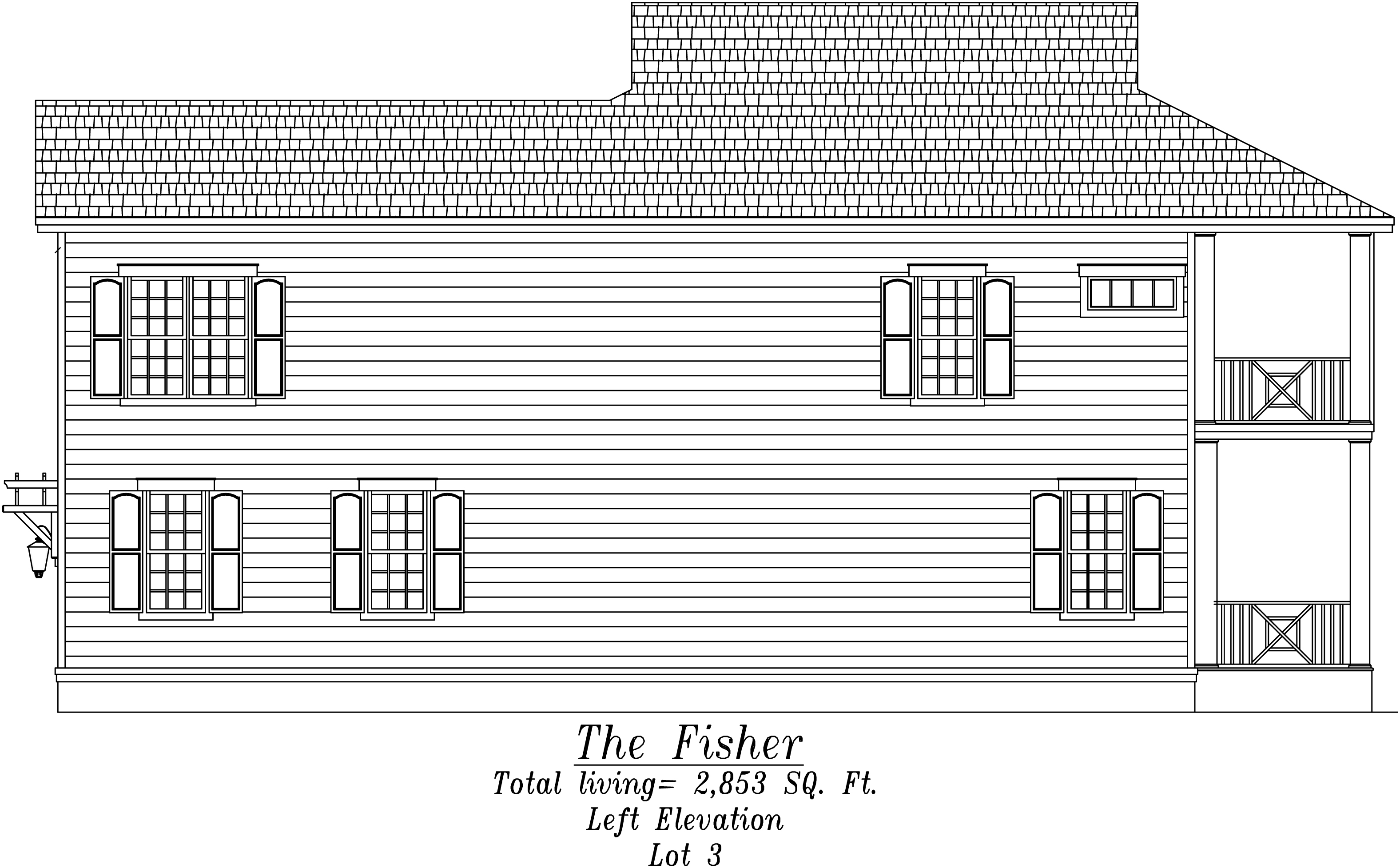 Fisher Left Elevation