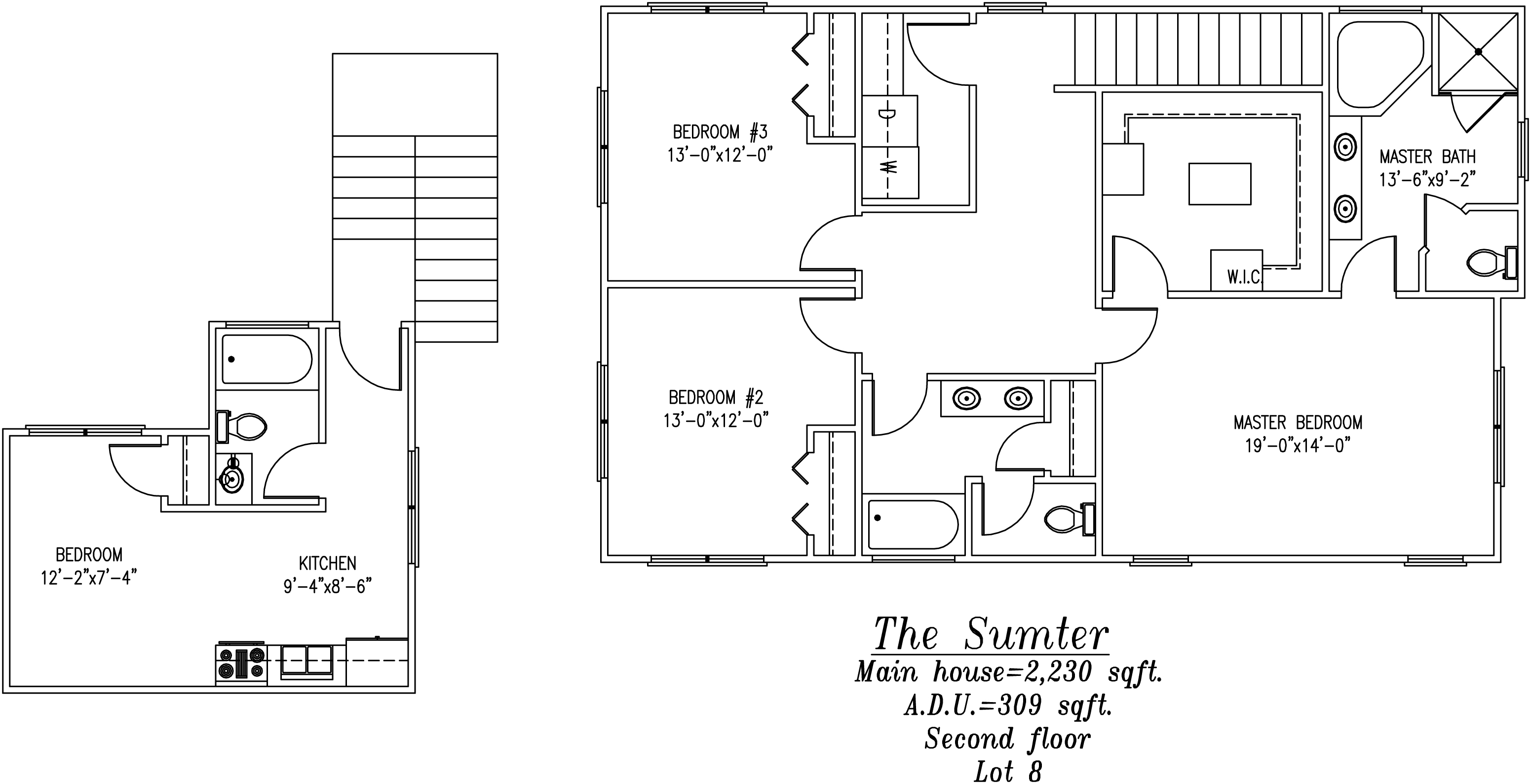 Sumter Second floor Plan