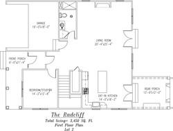 Radcliff First Floor Plan