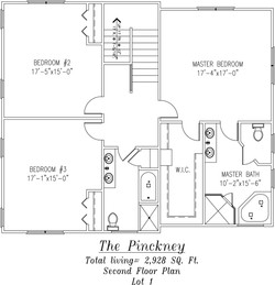 Pinckney Second Floor plan